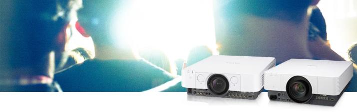 Лазерный и ламповые проектор Sony